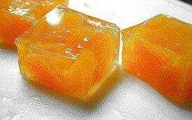 Thạch cam vàng lung linh
