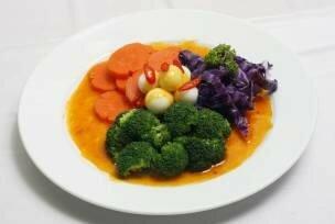 Bông cải xào trứng