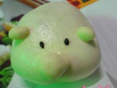 Bánh bao bơ đậu phộng