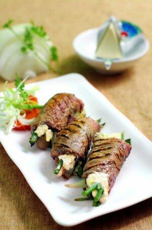 Thịt bò cuộn Phô mai Con Bò Cười