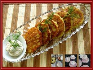 Bánh khoai tây nhân phô-mai 1
