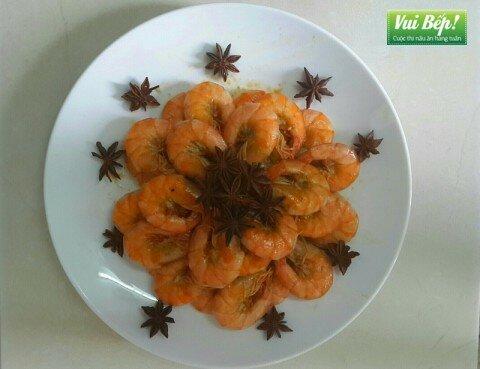 Tôm rim nước dừa