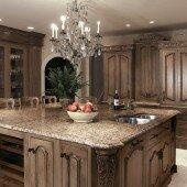 Cách bố trí đèn LED trong nhà bếp tạo nét sang trọng