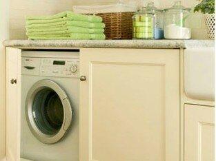 Gợi ý sắp đặt máy giặt trong không gian bếp