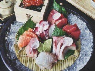 Sushi sashimi ngon ở Sorae