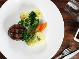 Hương vị ậm đà của bít-tết bò Úc nướng
