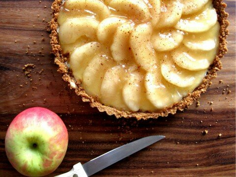 Apple-cheesecake-cake-ale