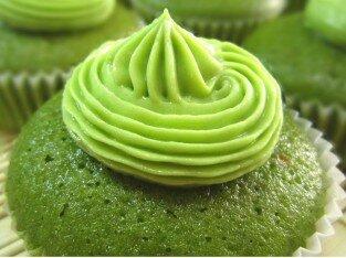 Cupcake trà xanh hấp dẫn tại Pacey