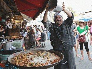 Cơm chiên Tây Ban Nha - Street Food Thái Lan