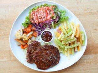 Vị lạ món Bò BBQ tại Súp-Lơ Fooderia-Bistro