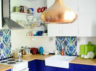 Chọn chậu rửa chén phù hợp chiều cao người đứng bếp