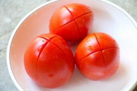 Nui xào bò sốt cà chua