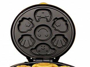Chiếc bánh ngộ nghĩnh với máy làm bánh hình thú Magic