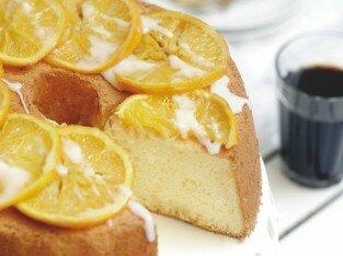 Orange Chiffon Cake vàng ươm tại Vanila and butter