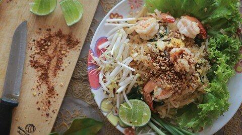Pad Thai (Mì xào kiểu Thái)