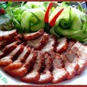 Làm thịt xá xíu không cần lò nướng