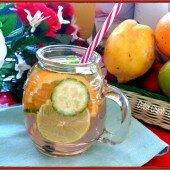 8 công thức làm detox nước trái cây: Thanh nhiệt, giải độc, giảm cân