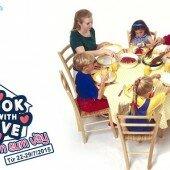 """Cuộc thi """"Cook with love""""- Chủ đề tuần 4: Bữa cơm sum vầy"""