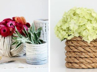 4 kiểu bình hoa tuyệt đẹp cho bàn tiệc