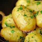 Khoai tây đút lò thơm nức