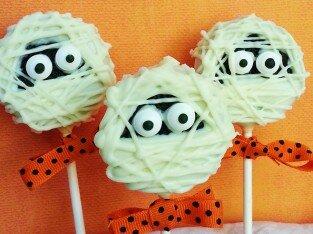 """Bánh Cookies """"xác ướp"""" đáng yêu cho Halloween"""
