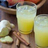 Giải độc với nước giấm táo