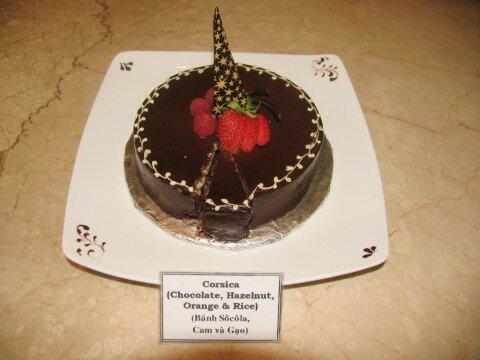 Chocolate, Hazenut Orange & Rice