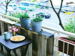 Thư giãn tại góc nhỏ Noon Workshop coffee