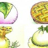 Bánh ngon lễ Tết, một vòng Á châu