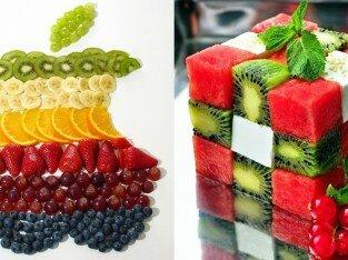 8 mẫu xếp trái cây đĩa siêu đơn giản, đẹp mắt bạn nên thử