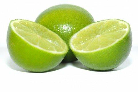 citron coupé #1 vert nourriture fruit isolé isoler détourer détouré ,cut lemon green food isolated fruit isolate crop cropped