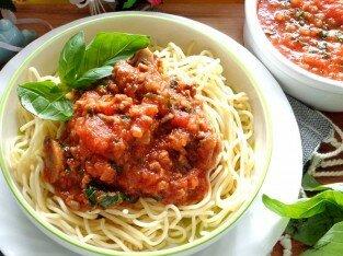 Tự làm sốt spaghetti thơm ngon hoàn hảo