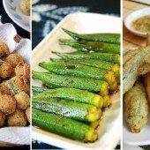 3 món ngon, dễ nấu từ đậu bắp