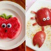 Tạo hình trái cây siêu đáng yêu cho bé