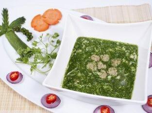 Súp ngọc bích - món súp ngon và dinh dưỡng cho bé