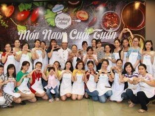 Cooking class kỳ 4: Bổ ích và đầy niềm vui