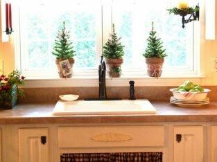 Thiết kế chậu cây cảnh mang đến màu xanh cho căn bếp