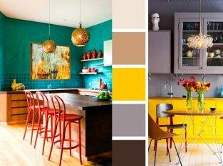 20 gợi ý kết hợp màu hoàn hảo cho gian bếp tỏa sáng