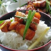 Thành viên vào Bếp: Thịt rim mặn ngon cơm ngày mưa