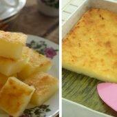 Bánh khoai mì nướng thơm nức cho bữa xế