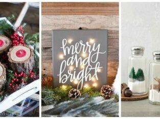 6 kiểu trang trí phòng bếp đơn giản cho mùa Giáng sinh