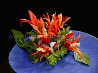 Hướng dẫn cách tỉa ớt đơn giản trang trí món ăn