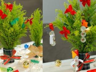 Tự làm cây thông Giáng sinh siêu đáng yêu