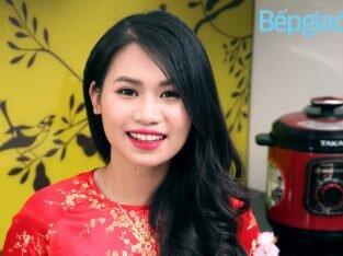 Blogger ẩm thực Hương Chóe: Vào bếp từ thuở lớp 3