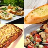 5 món ngon từ bánh mì cũ