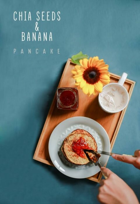 pancake chuối 3