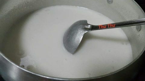 Cách làm rau câu nước cốt dừa thơm béo 5
