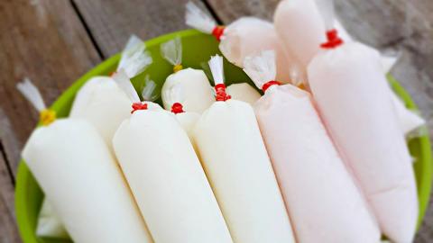 cách làm sữa chua túi