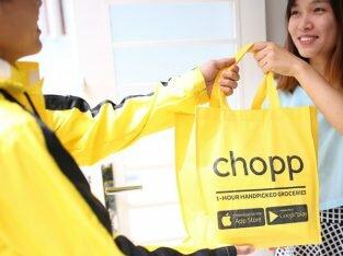 Đi siêu thị trực tuyến cùng Chopp - Giải pháp cho chị em văn phòng