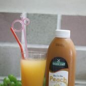 Pha nước trái cây thơm ngon tại nhà